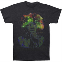 Jimi Hendrix Men's  Magic Slim Fit T-shirt Charcoal Heather