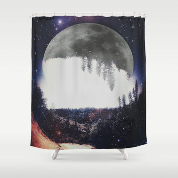 Night Hike Shower Curtain by DuckyB (Brandi)