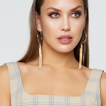 Ring Leader Earrings - Gold