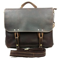 Vere Gloria Fashion Casual Men Leather Handbag