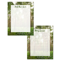Customized Digital Stationery Earth Day Mother's Day 8.5x11, printable woodland writing paper, spring nature lover diy journal page for mum