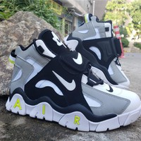 2019 Air Barrage Mid QS Black/Gray/White