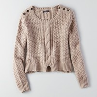 AEO SPLIT HEM SWEATER