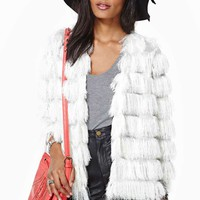 Keep On Swinging Fringe Jacket