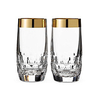 Waterford Crystal Mixology Mad Men Collection, Draper Hiball Pair With