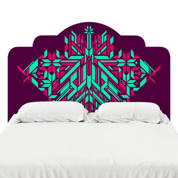 Fracto 6 Headboard Decal