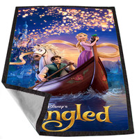 Disney Tangled 4 2f0bf26a-26b1-484c-821e-b8ef808cc25c for Kids Blanket, Fleece Blanket Cute and Awesome Blanket for your bedding, Blanket fleece *02*