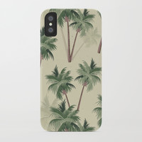 Palm Trees iPhone Case by Smyrna