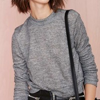 Nasty Gal Low Fi Sweatshirt