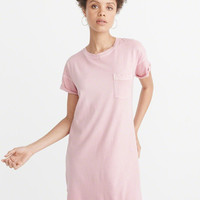 Womens Pocket Tee Dress | Womens New Arrivals | Abercrombie.com