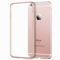 """JETech iPhone 6s Case Bumper for Apple iPhone 6/6s 4.7"""" (Rose Gold)"""