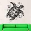 Wall Stickers Vinyl Decal Turtle For Bathroom Animal Ocean Marine Decor (ig1555)