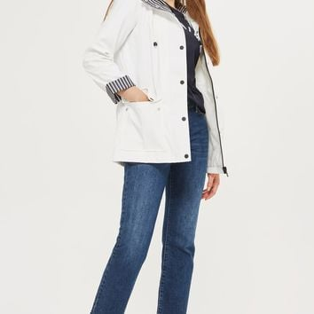 Hooded Rain Mac | Topshop