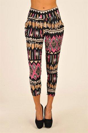 Milan Waist Pant - Multi at Necessary Clothing