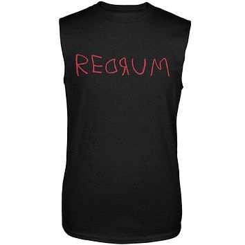 Halloween Horror Redrum Mens Sleeveless Shirt
