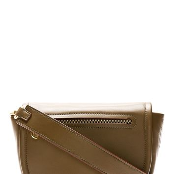 Marc By Marc Jacobs Khaki Green Luna Crossbody Bag