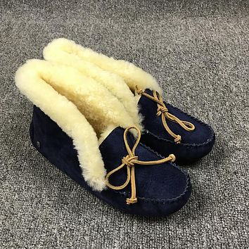 UGG Slippers ALENA Navy WoMenshoes 1004806