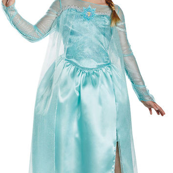 Girl's Costume: Frozen Elsa Snow Queen | Medium