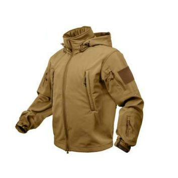 Special Ops Tactical Soft Shell Jacket | Coyote
