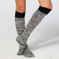 Crochet Top Womens Knee Hi Socks 222812125 | Socks