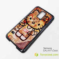 OBEY HELLO KITTY Samsung Galaxy S2 S3 S4 S5, Mini, Note, Tab Case Cover