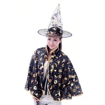 ONETOW Costume Halloween Shirt Children Witch Apparel [9032992903]