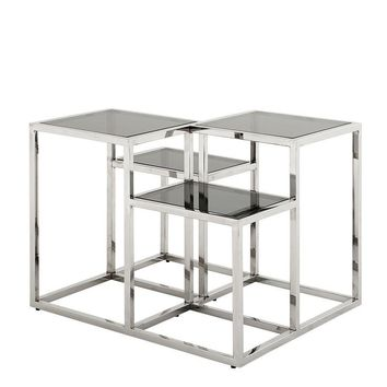 Smoked Glass Side Table | Eichholtz Smythson