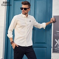 Men Shirt Blouse Long Sleeve clothing, solid cotton Shirt Clothes