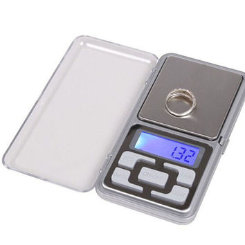 100g x 0.01g Digital Scale Jewelry Gold Herb Balance Weight Gram LCD Free Shipping Sep22