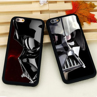 Star Wars The Force Awakens Darth Vader series Soft Black Rubber Cover Case for Apple iPhone 7 6 6s Plus SE 4s 5 5s 5c