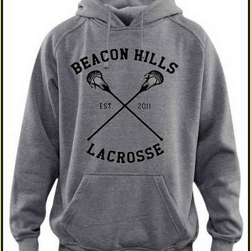 beacon hills lacrosse custom crewneck hoodie for unisex