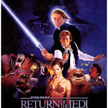 Star Wars Episode VI Return of the Jedi Poster 11x17