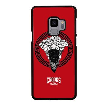 CROOK AND CASTLES BANDANA RED Samsung Galaxy S9 Case