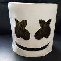 2017 Hot New Marshmello DJ Cosplay Toe Box Mask Bar Props Halloween Christmas Gift