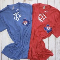 Texas Rangers t shirt