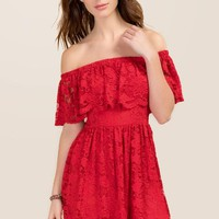 Talia Off The Shoulder Dress
