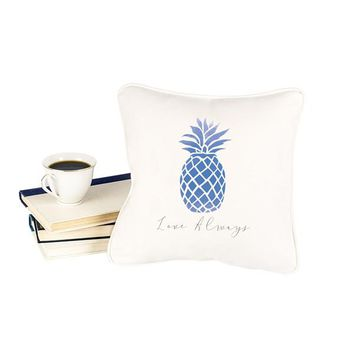 Personalized Pineapple Throw Pillow
