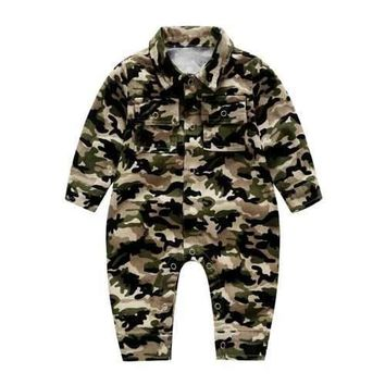 Baby Boy Girls Camo Romper
