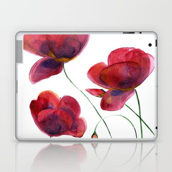 POPPIES Laptop & iPad Skin by MIKART