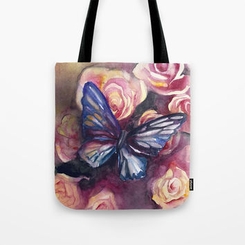 Scent Of Roses Tote Bag by MIKART