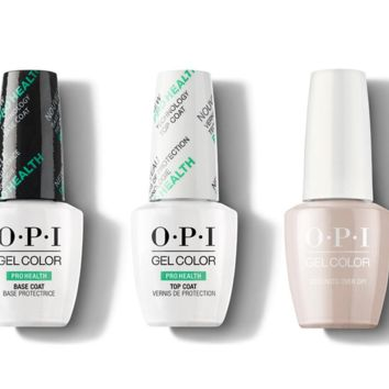 OPI - GelColor Combo - Base, Top & Coconuts Over OPI