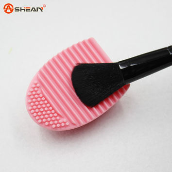 1 X 8 Colors Silicone Cleaning Cosmetic Make Up Washing Brush Gel Cleaner Scrubber Tool Foundation Makeup Cleaning Tools
