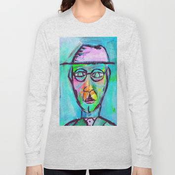 Man in color Long Sleeve T-shirt by Yuval Ozery