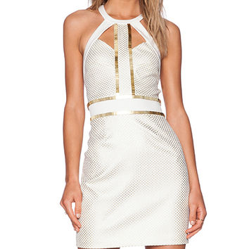 Sass & Bide You're Everywhere Dress in Ivory