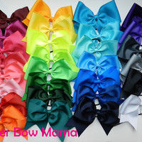 Plain 3 inch Cheer Bows