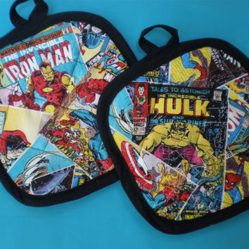 Marvel Comic Avenger pot holders limited quantity