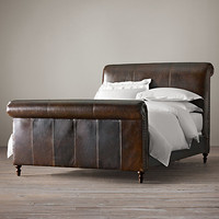 """56"""" Ellsworth Sleigh Bed With Footboard"""