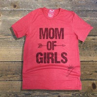 Mom of Girls Tee Shirt