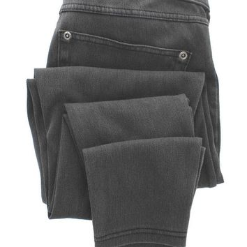 ONETOW Hue Super Smooth Denim Legging - Cast Iron Denim Leggings