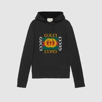 Gucci Cotton sweatshirt with Gucci print